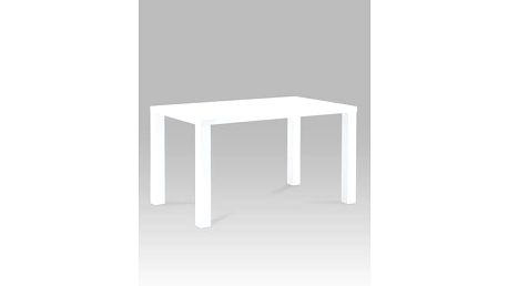 Jídelní stůl AT-1006 WT 120x80 cm - bílý