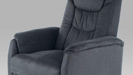 Relaxační křeslo TV-7013 GREY2 - látka šedá