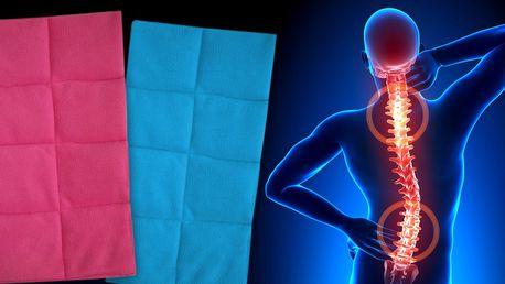 Nahřívací polštářek do mikrovlnky - pro něho a pro ni