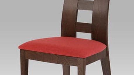 Jídelní židle BC-33904 WAL - ořech/bez sedáku
