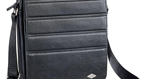 Wedo GoFashion Pro taška pro tablet, svislá, černá - 596101 + Belkin iPad/tablet stylus, stříbrný