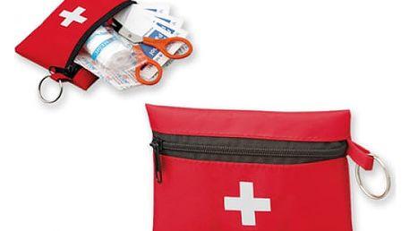 Mini lékárnička v červeném obalu - dodání do 2 dnů