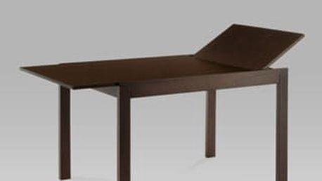Jídelní rozkládací stůl BT-6745 WAL 120+44x80 cm - ořech