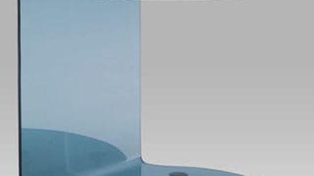 Konferenční stolek ABG-102 BK 50x50x56 cm - černé sklo