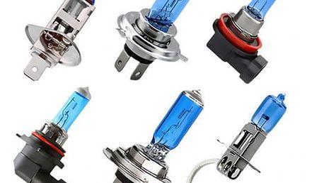 Modrá autožárovka - H1/H3/H4/H7/H11/9006