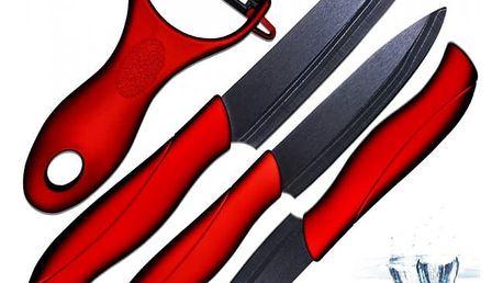 Sada nožů a škrabky