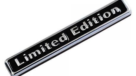 3D samolepka LIMITED EDITION