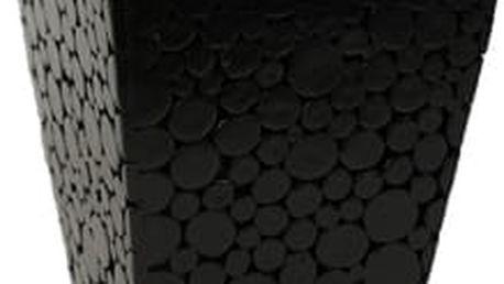 Obal s povrchem z dřevěných špalíčků