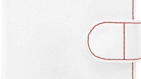 FIXED FIT pouzdro typu kniha pro Apple iPhone 7, bílá - FIXFIT-100-WH
