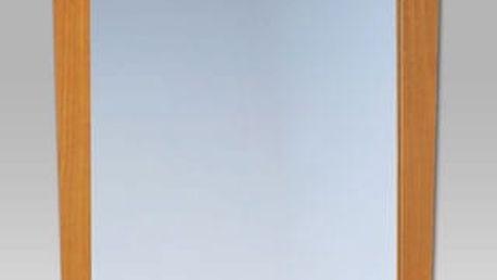 Zrcadlo ATHENA PO203 kaučuk/ratan barva med