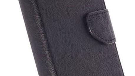 Krusell polohovací pouzdro BORAS FolioWallet pro Samsung Galaxy S7 edge, černá - 60578