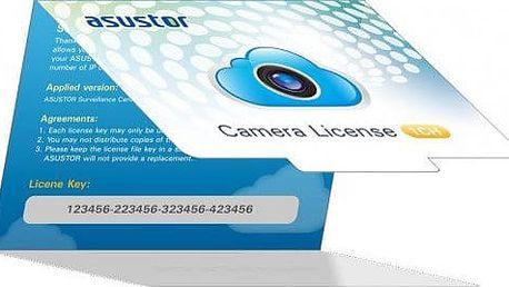 ASUSTOR NVR licenční balíček pro IP kameru - 1 licence - AS-SCL01