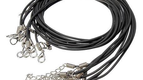 Šňůrky na krk pro výrobu šperků - dodání do 2 dnů