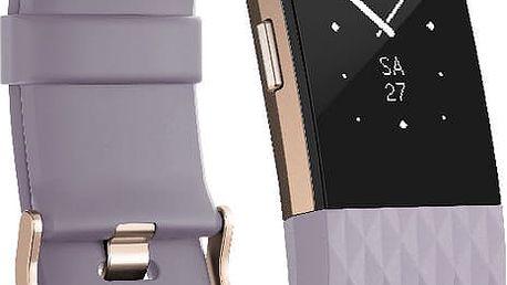 Fitbit Charge 2, L, fialová - FB407RGLVL-EU