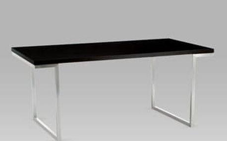 Jídelní stůl T-107 BK 180x90 cm - ořech