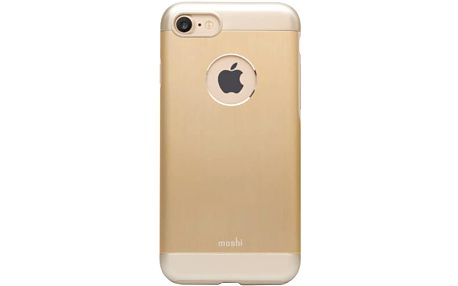 Moshi iGlaze Amour Apple iPhone 7, zlaté - 99MO088231