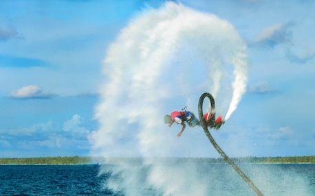 Jako ryba, jako pták: Vodní létání flyboard