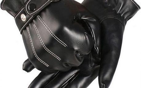 Pánské rukavice v elegantním provedení - dodání do 2 dnů