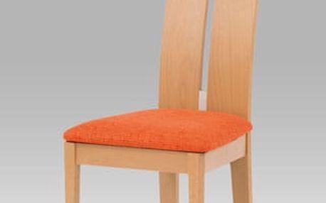 Jídelní židle BC-22401 BUK - buk/bez sedáku