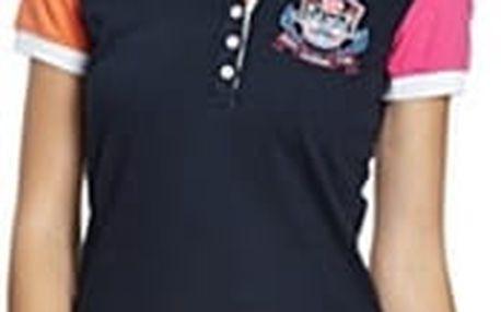 Dámské polo tričko Galvanni Tortona, s barevnými rukávy