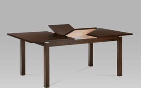 Jídelní rozkládací stůl BT-6922 WAL 150+44x90 cm - ořech