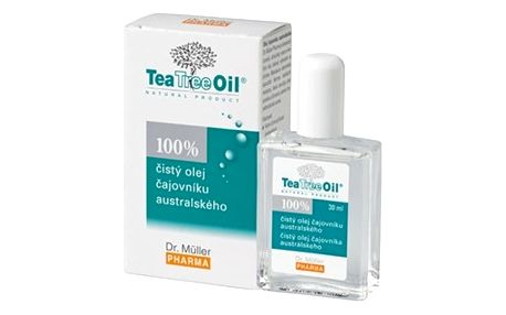 DR.MULLER Tea tree oil 100%čistý 30ml