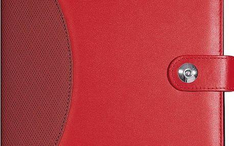 WEDO obal pro tablety Universal, červený 9,7''-10,5'' - 58709702 + Belkin iPad/tablet stylus, stříbrný