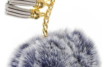 Fashion Icon Přívěsek na kabelku Bambule pompon