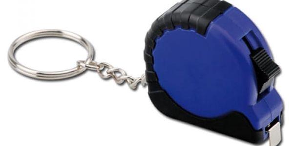 Přívěsek na klíče - modrý metr - dodání do 2 dnů