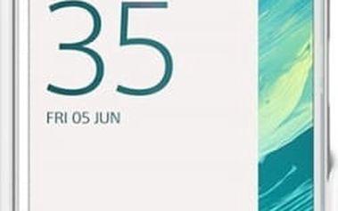 Pouzdro na mobil flipové Sony SCR50 pro Xperia X (1301-5608) bílé