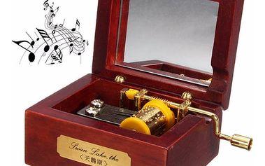 Hrací skříňka s melodií Castle in the sky