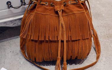 Dámská kabelka s trendy střapci - 3 barvy
