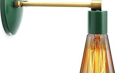 Nástěnná lampa v retro stylu - 6 barev