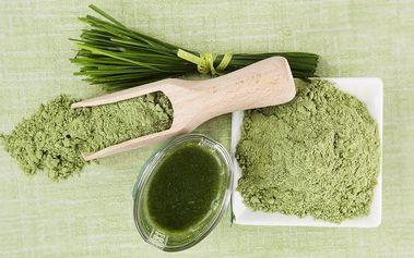 Mladý ječmen v prášku - přísun vitamínů a minerálů