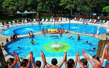 Týden na kraji sezóny s možností plné penze v kempu s bazénem - Lignano Sabbiadoro, Itálie