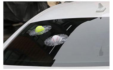 Vtipná samolepka na auto pro sportovní nadšence
