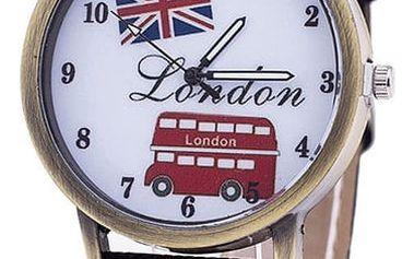 Hodinky s motivy Londýna