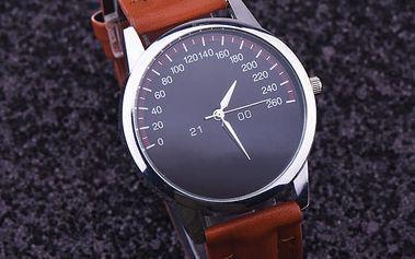 Pánské hodinky s motivem tachometru - 5 barev