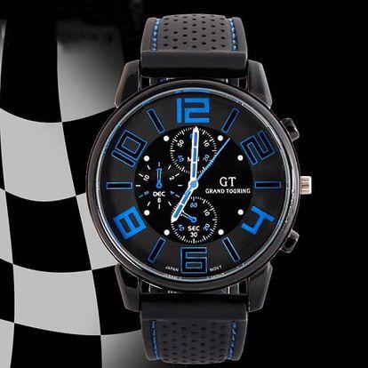 Pánské sportovní silikonové hodinky - dodání do 2 dnů