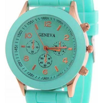 Stylové unisex hodinky ve více barvách