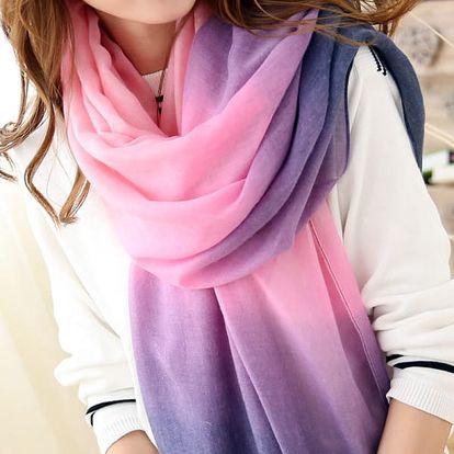 Šátek v duhových barvách - 10 variant