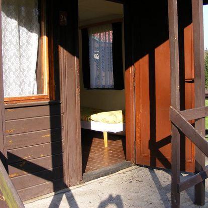 České Švýcarsko: ubytování v chatkách na 3 až 7 dní pro 2 osoby, dítě do 10 let zdarma