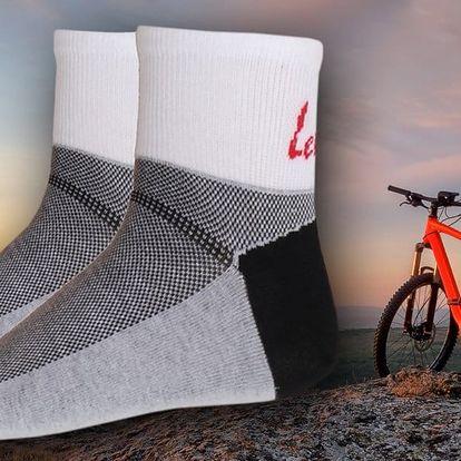 Pánské ponožky Levron Cyklo 5 párů