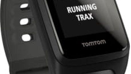GPS hodinky Tomtom Cardio + Music (S) + bluetooth sluchátka (1RFM.003.05) černé