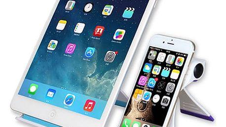 Nastavitelný stojánek pro smartphony i tablety - různé barvy