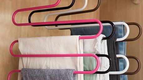 Ramínko multifunkční na oblečení - 4 barvy