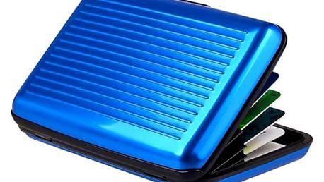Ochranné pouzdro proti zneužití platební karty - různé barvy