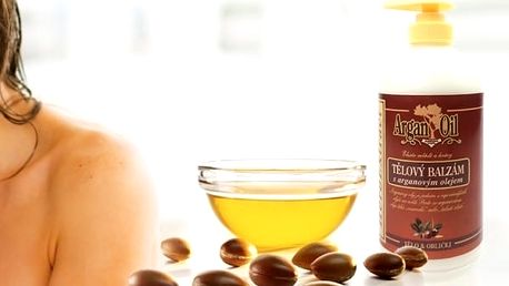 Tělový krém s arganovým olejem