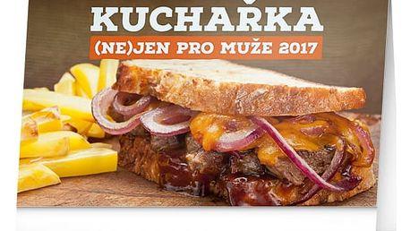 Stolní kalendář 2017 - Kuchařka (ne)jen pro muže - dodání do 2 dnů