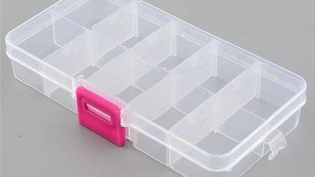 Plastový organizační box